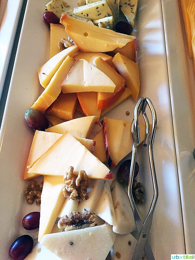cheese and nuts plate