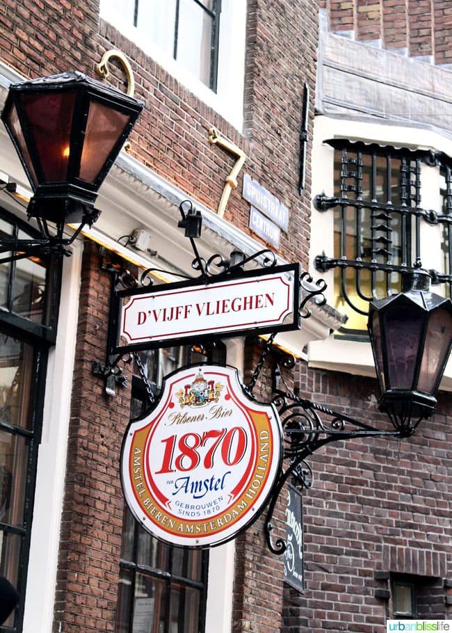 D'Vijff Vlieghan in Amsterdam