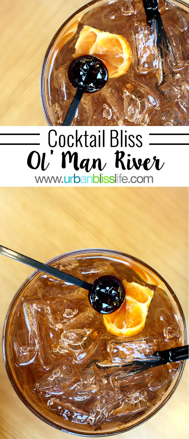 bourbon and bitters cocktail on UrbanBlissLife.com