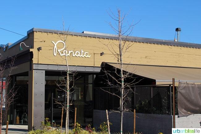 Renata Portland, Oregon restaurant - review on UrbanBlissLife.com