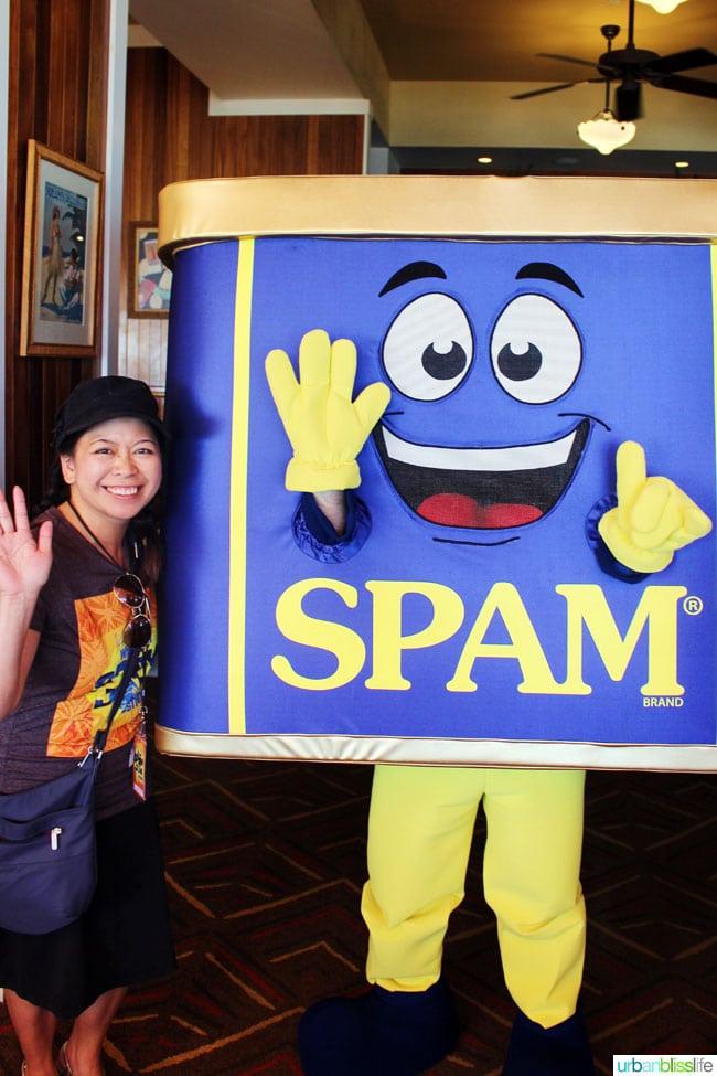 Spam Mascot