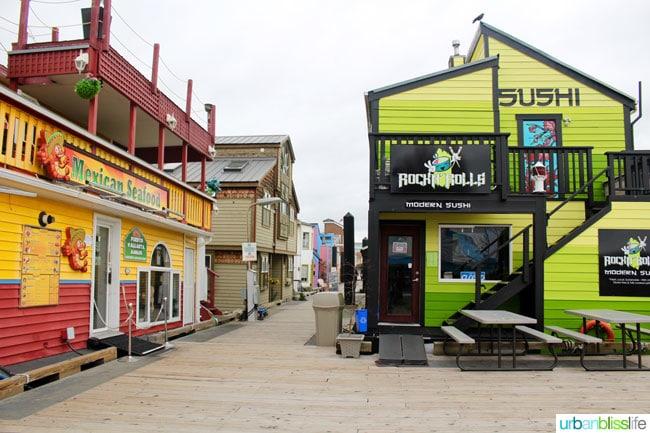 Victoria BC fisherman's wharf