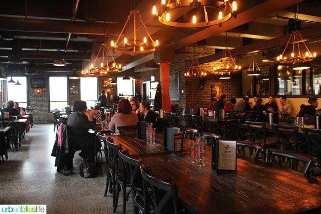 Vancouver BC Breweries: Big Rock Restaurant