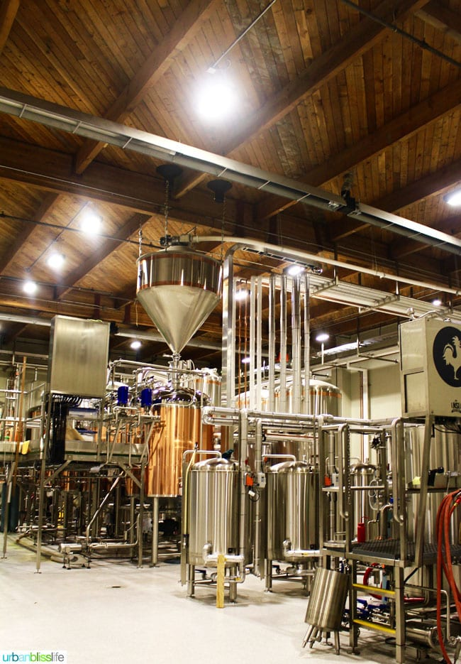 Vancouver BC Breweries: Big Rock Brewery tour