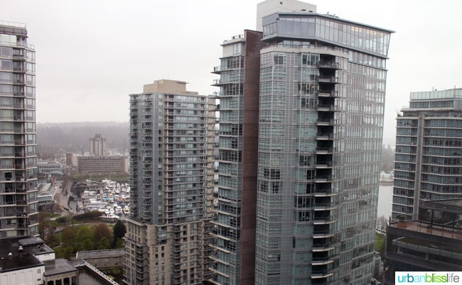 Where to Stay in Vancouver BC: Coast Coal Harbour Hotel