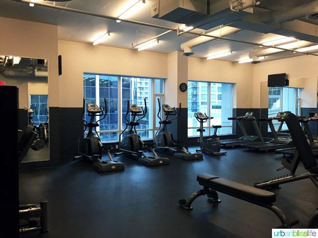 Coast Coal Harbour Hotel fitness center