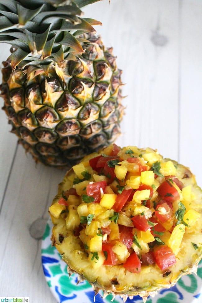 Pineapple and Salsa