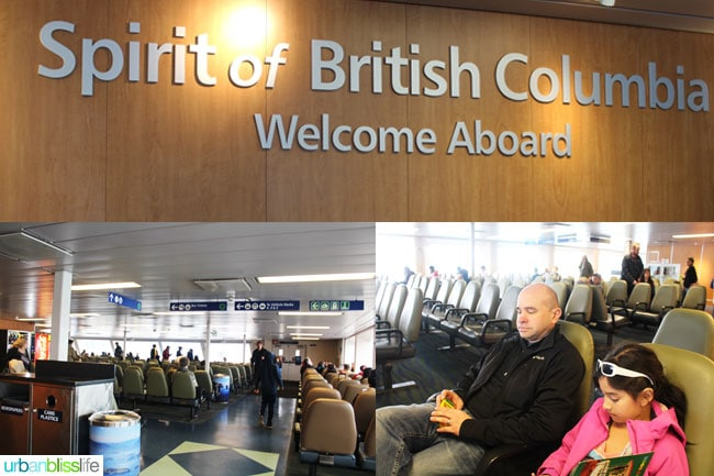 Vancouver British Columbia Ferry
