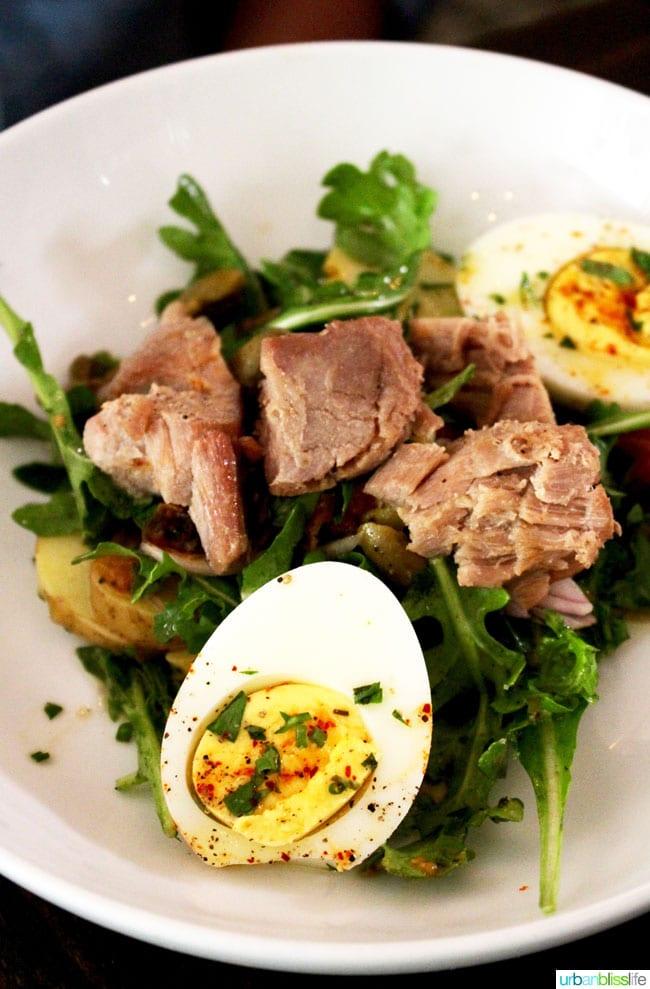 Verdigris restaurant weekday brunch in Portland, Oregon. Full restaurant review on UrbanBlissLife.com