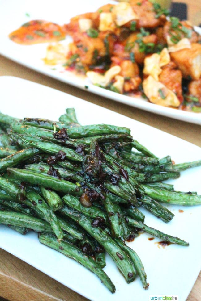Green Beans at Cactus Club Cafe in Vancouver BC