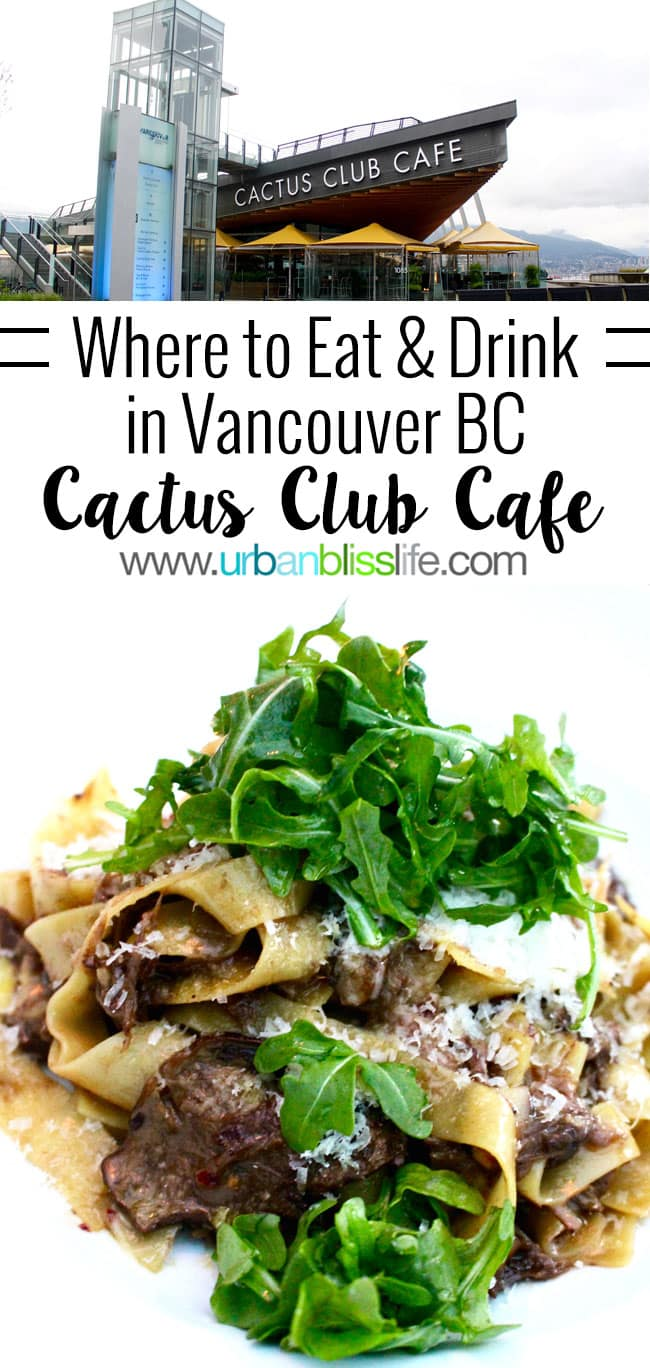 Kid friendly restaurants in Vancouver BC: Cactus Club Cafe review on UrbanBlissLife.com