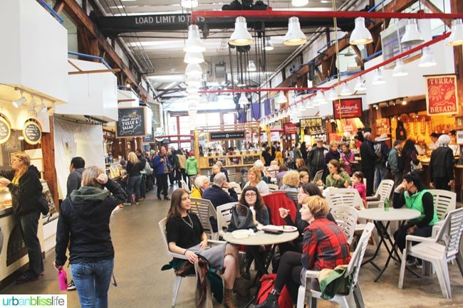 Things to do In Granville Island: food court