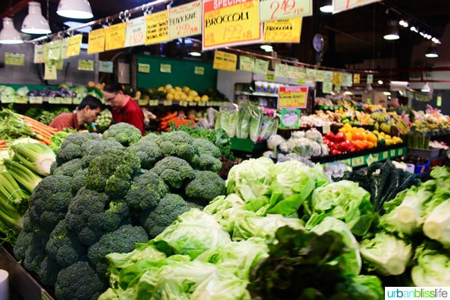 Things to do In Granville Island public market