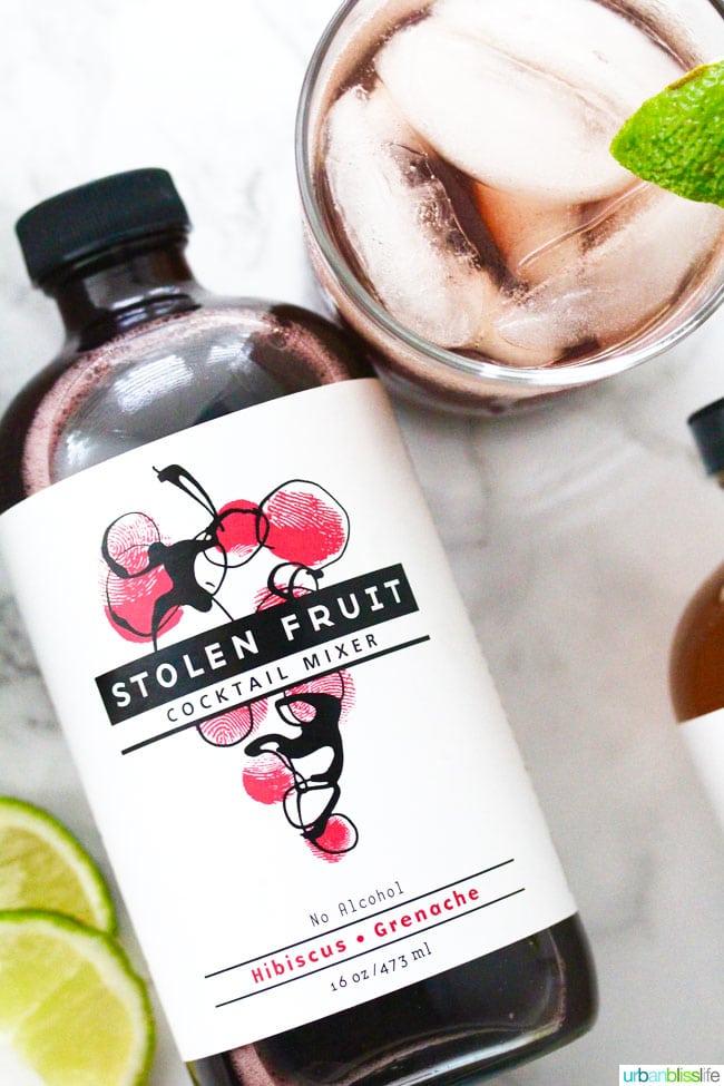 stolen fruit cocktail mixer