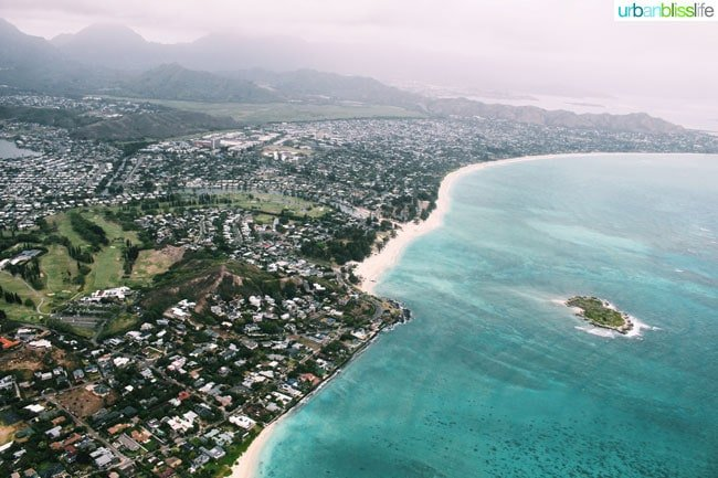 oahu helicopter tour - ocean