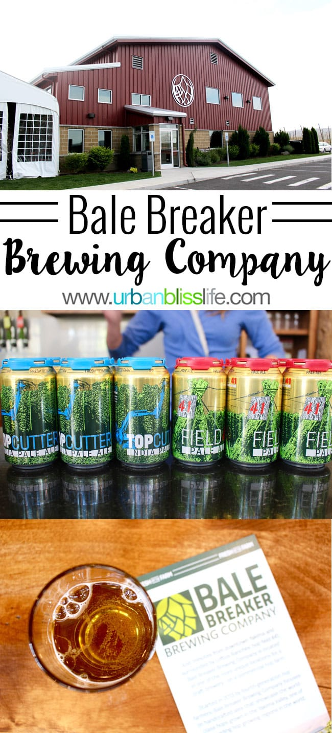 Yakima Breweries: Bale Breaker Brewery is a Yakima, Washington brewery founded by a family of longtime hop farmers, offering delicious beer. Details on UrbanBlissLife.com