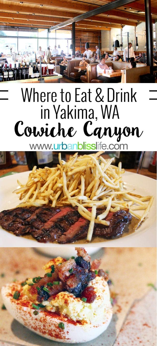 Places to eat in Yakima, Washington: Cowiche Canyon Restaurant review on UrbanBlissLife.com
