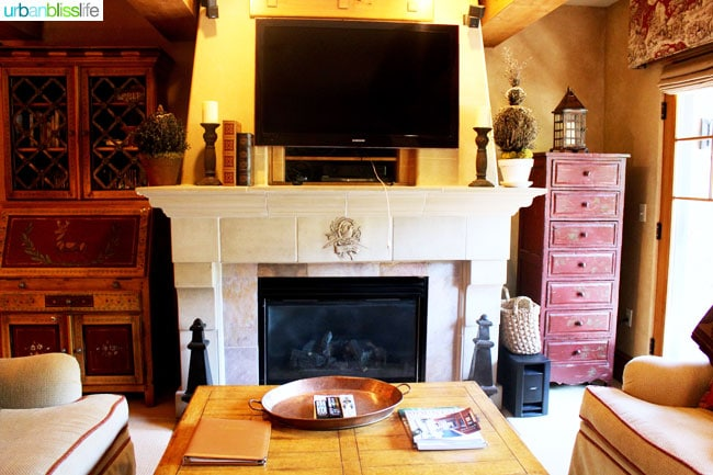 Where to stay in park city utah: Studio guest room at the Chateaux