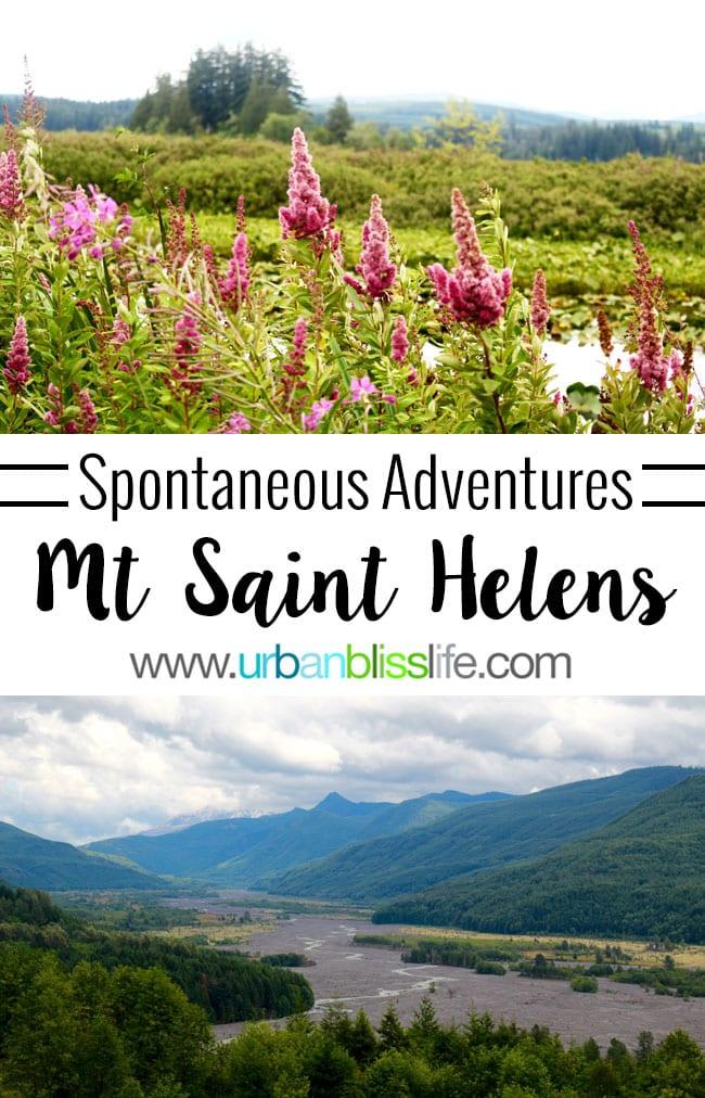 Spontaneous Adventure: Visiting Mount Saint Helens, travel bliss on UrbanBlissLife.com