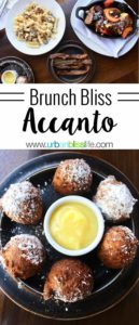 Accanto weekend brunch includes classics and updated hearty brunch fare. Portland restaurant review on UrbanBlissLife.com