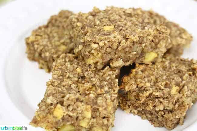 apple granola bars