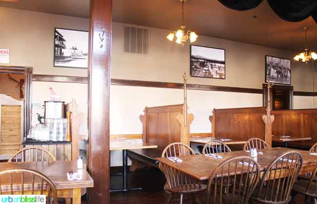 Sisters Saloon in Sisters, Oregon interior