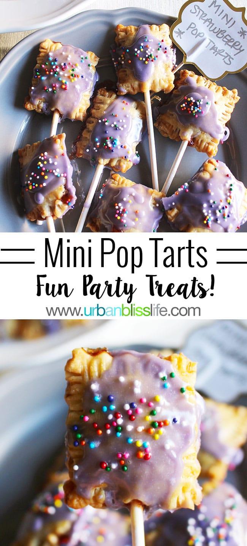 Mini Pop Tarts on UrbanBlissLife.com