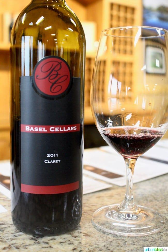 Basel Cellars Estate Winery Walla Walla, Washington travel feature on UrbanBlissLife.com