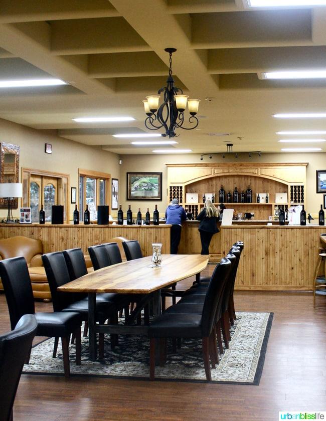 Basel winery tasting room