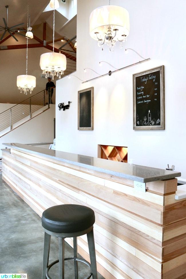 Hillsboro Wineries: Blizzard Wines Tasting Room