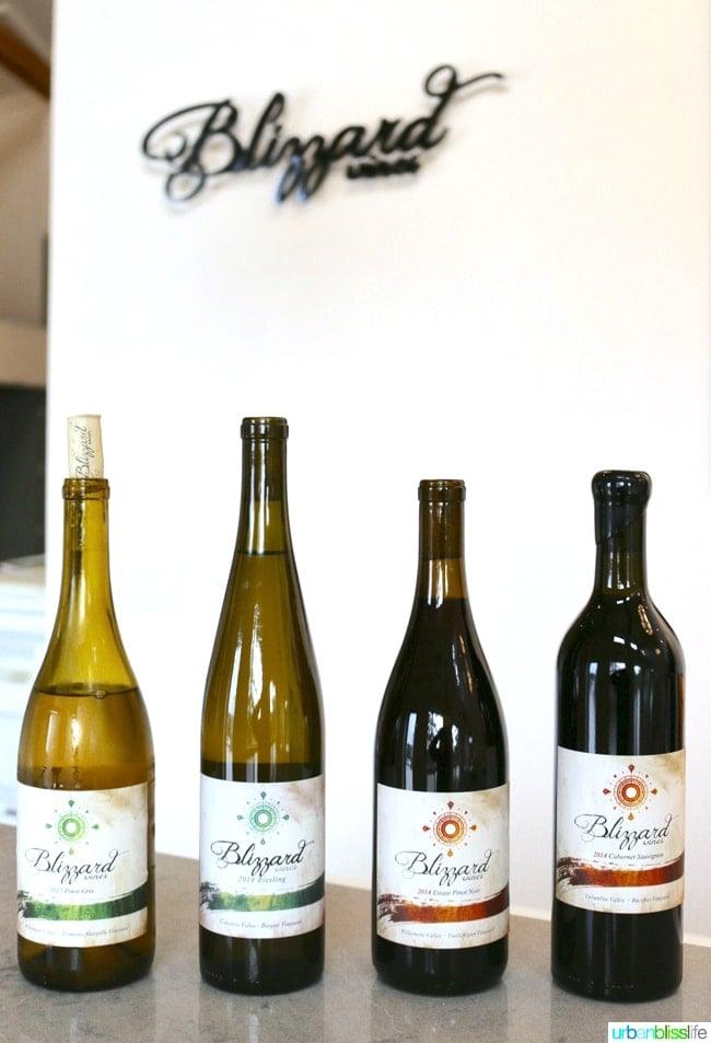 Hillsboro Wineries - Blizzard Wines