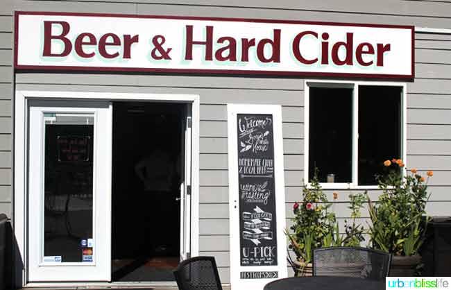 Beer & Cider sign