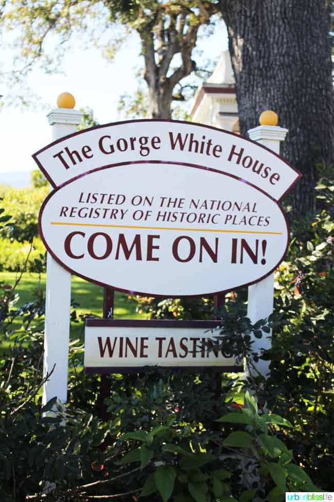Gorge White House in Hood River, Oregon