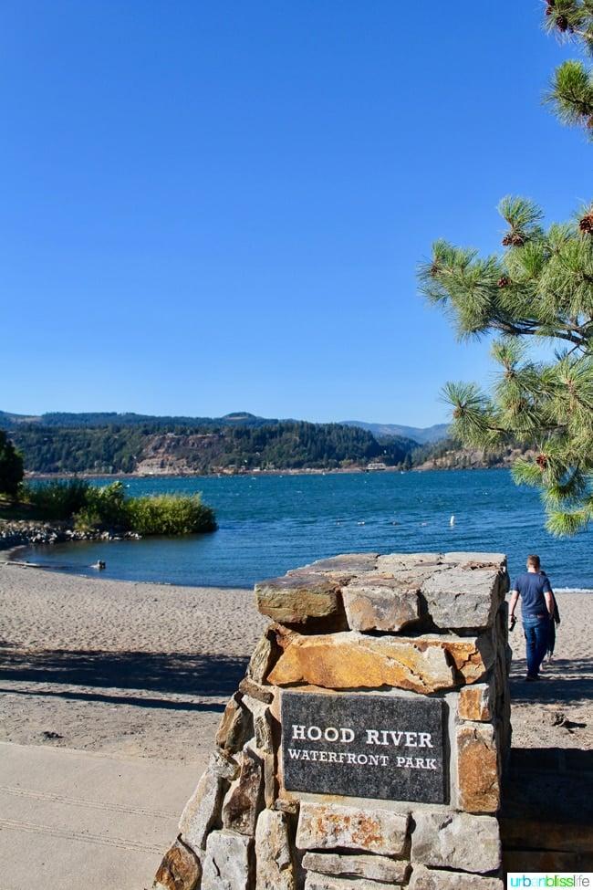 Hood River Oregon waterfront
