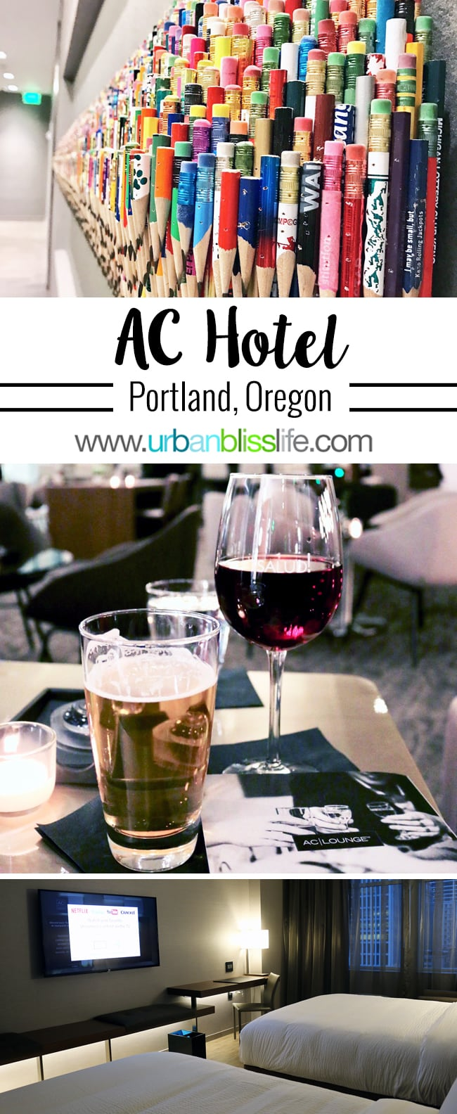 Boutique Hotels Portland - AC Hotel Portland Downtown Hotel review on UrbanBlissLife.com