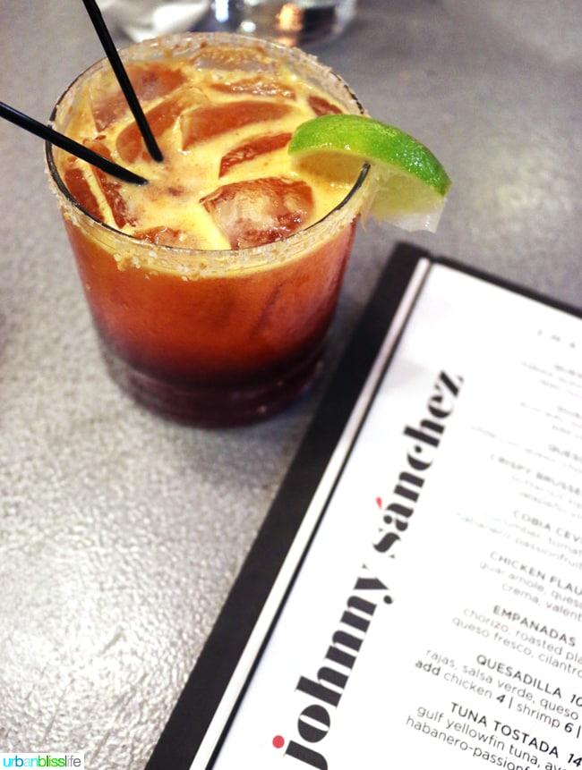 New Orleans Mexican Restaurants - Johnny Sanchez cocktail