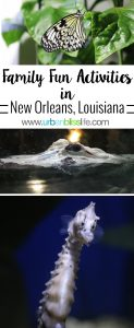 Family fun activities in New Orleans, Louisiana on UrbanBlissLife.com