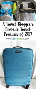 A Travel Blogger's 5 Top Travel Products of 2017 on UrbanBlissLife.com