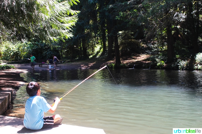 50 Things to Do in Portland, Oregon With Kids: Sandy Trout Farm