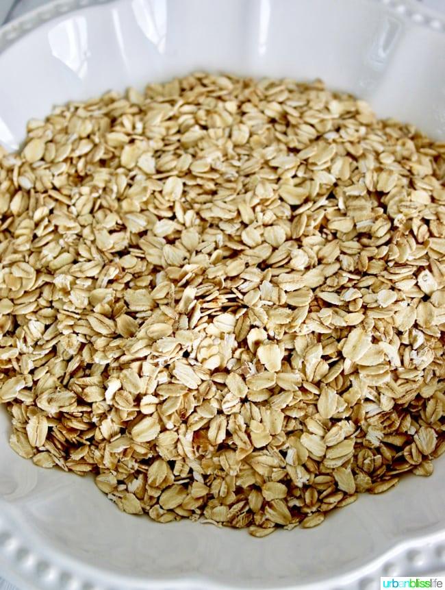 oats in bowl
