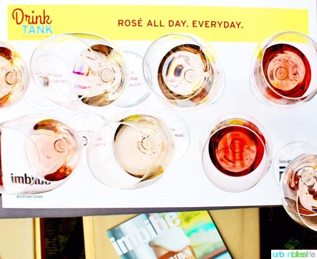 Feast Portland 2017 Drink Tank Rose All Day on UrbanBlissLife.com