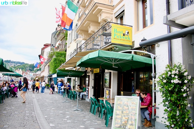 things to do in Lucerne: Hotel Pickwick