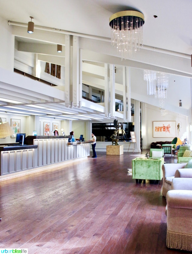 Ashland Hills Hotel and Suites main lobby