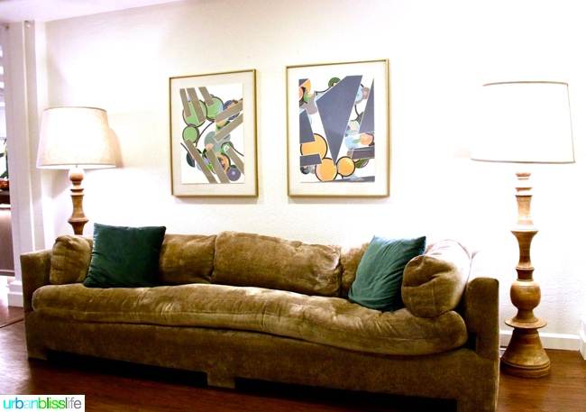 Ashland Hills Hotel and Suites mod furniture walkway