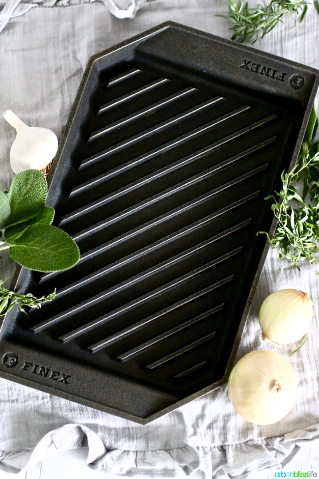 Finex Cookware Lean Grill Pan on UrbanBlissLife.com