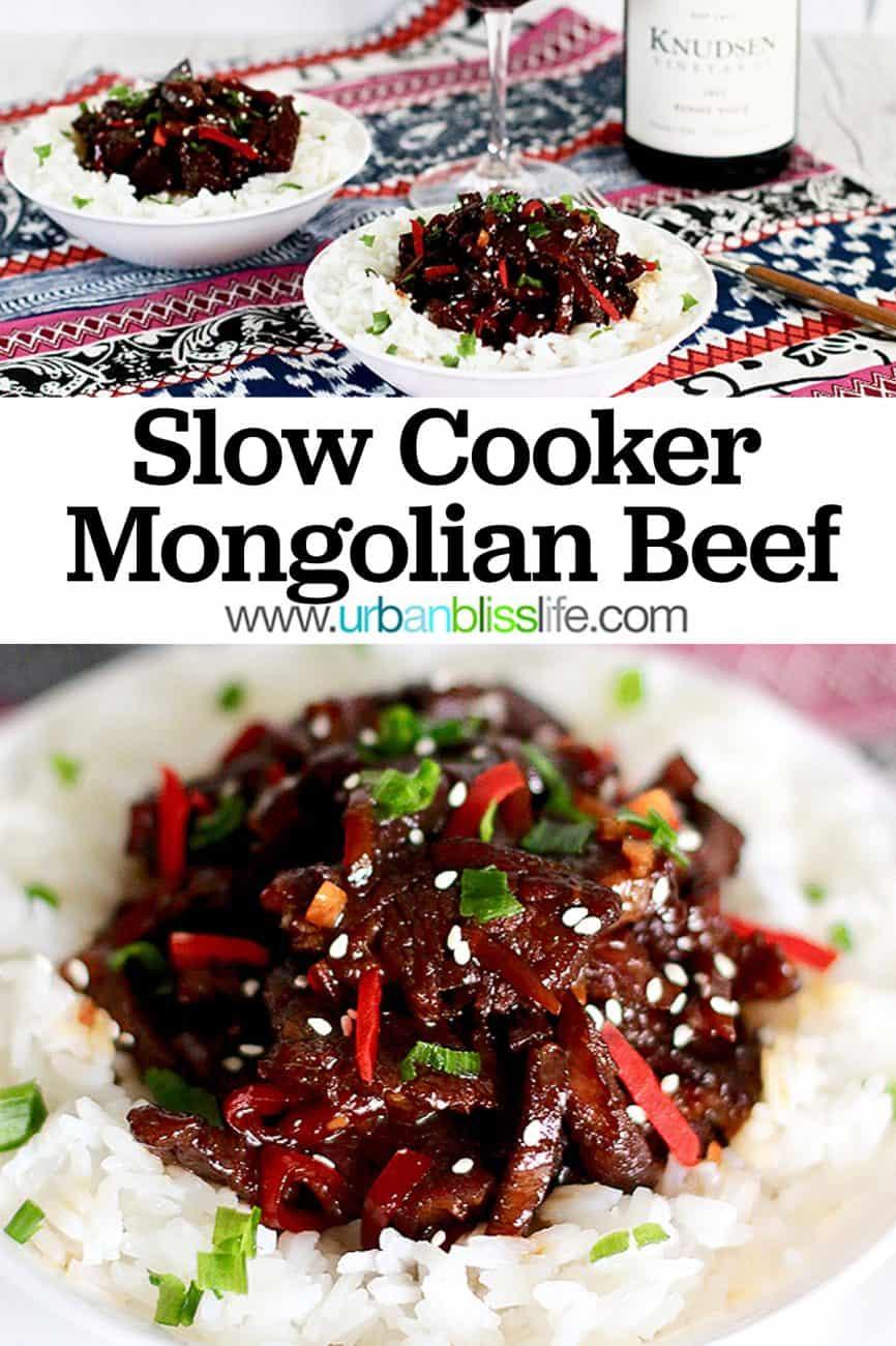 Slow Cooker Mongolian Beef main image