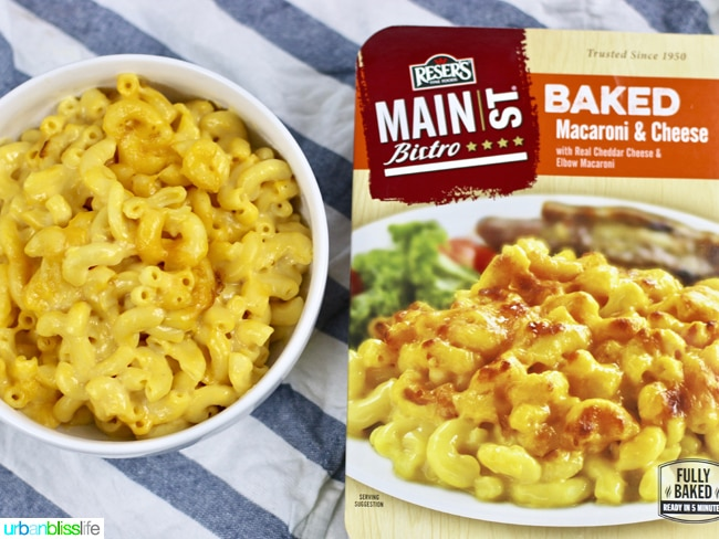 Main St Bistro baked sides mac & cheese
