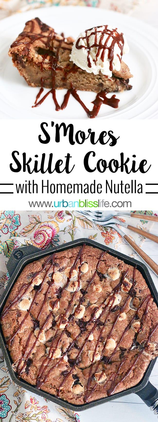 S'mores Pie recipe on UrbanBlissLife.com