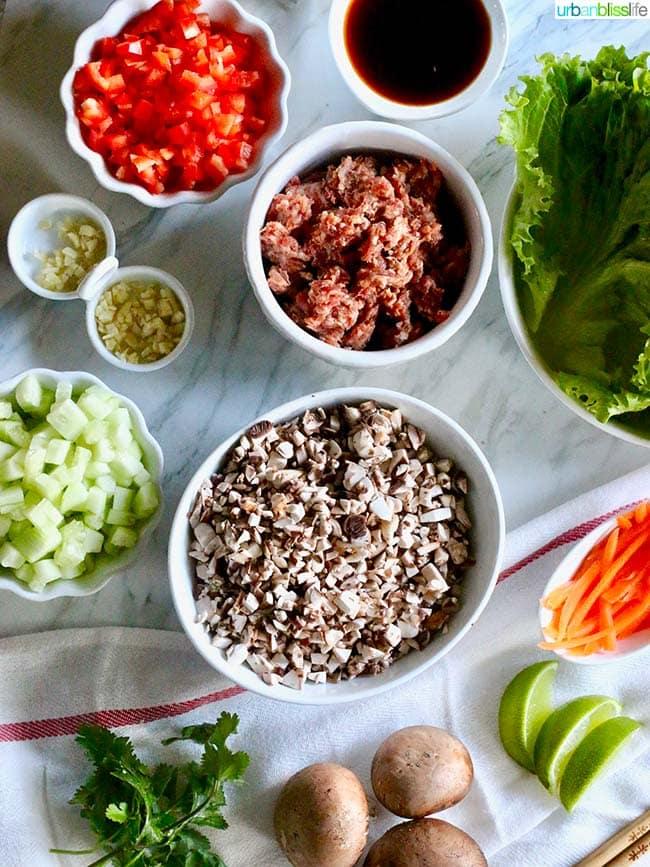 lettuce wrap ingredients