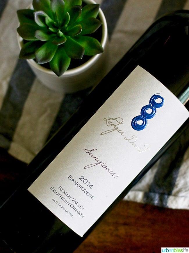 Ledger David Sangiovese wine